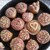 Buttercream de chocolate para cupcakes