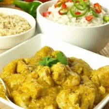 Pechugas de pollo al curry