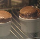 Soufflé de chocolate especiado Chef