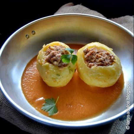 Patatas Rellenas De Carne En Salsa 3 3 5