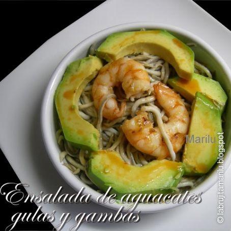 Ensalada De Aguacates Gulas Y Gambas 3 2 5