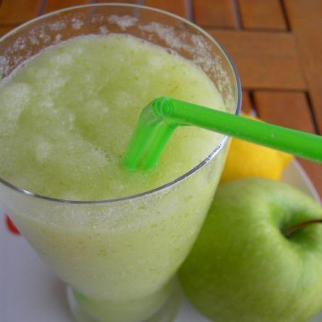 Granizado de manzana verde y lim n cocinando entre olivos - Cocinando entre olivos ...