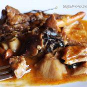 Filetes de ternera en salsa con champi ones f cil - Vedella amb bolets olla express ...