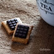 Galletas con chocolatina