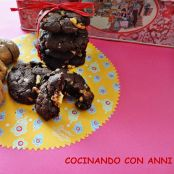 Galletas de nueces y chocolate blanco