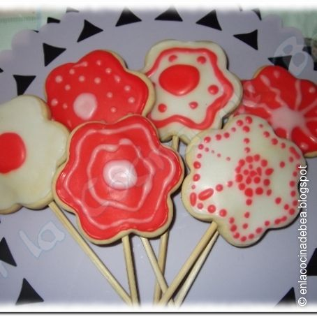 Galletas De Mantequilla Decoradas Con Glasa 3 5 5