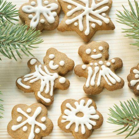 Galletas De Navidad Decoradas Con Glasa 3 5 5