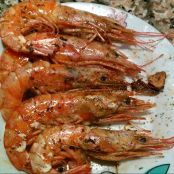 Gambas asadas (normal)