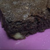 Brownie de chocolate negro con nueces