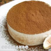 Mousse de brevas con chocolate blanco