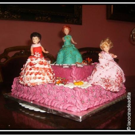 Tarta De Cumpleanos Para Ninas 445 - Como-decorar-una-tarta-de-cumpleaos-para-nios