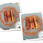 Nutella French toast roll-ups - Paso 7