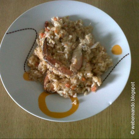 Arroz con buey de mar