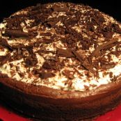 Tarta de chocolate del Missisipi