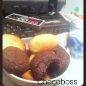 Retrocookies de chocolate negro