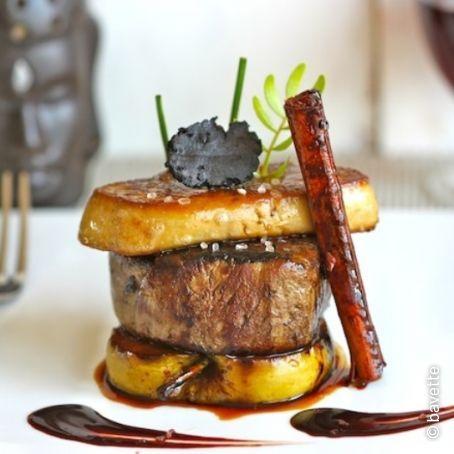 solomillo de ternera con foie y manzana braseada 4 7 5