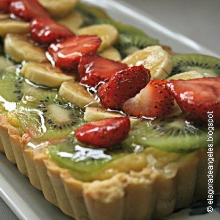 Tarta De Frutas Con Crema De Naranja 4 4 5