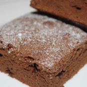Brownie de chocolate (con nueces)