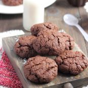 Receta original de galletas de chocolate y coco