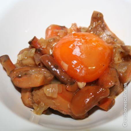 Cocinar Niscalos | Niscalos Estofados Y Yema De Huevo 3 5 5