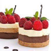 Mousse De Tres Chocolates Con