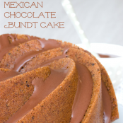 Bundt cake mexicano de chocolate