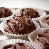 Muffins de chocolate Gianduja