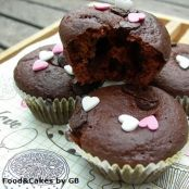 Muffins de chocolate al estilo Starbucks (Thermomix)