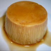 Flan de chocolate blanco fácil