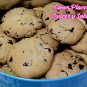 Galletas con chocolate negro - Paso 8