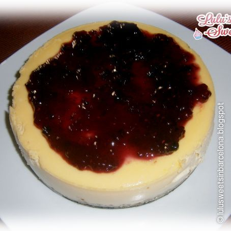 New York cheesecake o tarta de queso americana