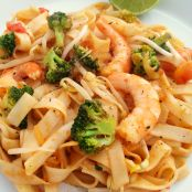 Pad thai vegetariano