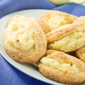 Cookies rellenos de cottage cheese