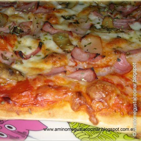 Pizza Casera Fresca O Congelada Receta De Masa De Pizza Casera Facil