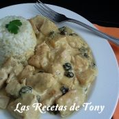 Pollo al curry estilo madrás