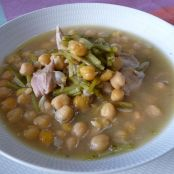 Puchero de garbanzos
