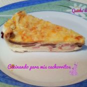 Quiche de beicon