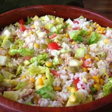 Paella de marisco y pollo 4 1 5 - Ensalada de arroz y atun ...