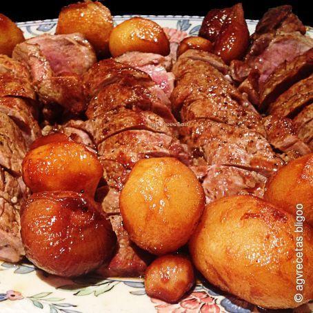 Solomillo ib rico al horno 3 7 5 - Solomillo cerdo al horno ...
