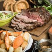 ''Sunday roast''   Asado ingles