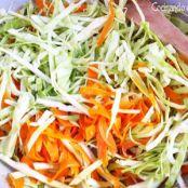 Tallarines de arroz con carne, verduras y salsa de soja - Paso 1