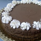Tarta de chocolate al ron