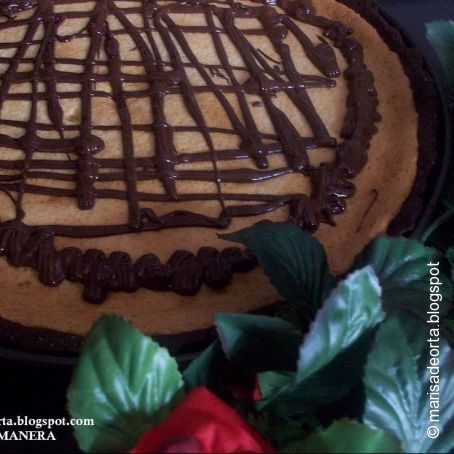 Tarta de limón y chocolate thermomix