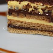 Tarta clásica de galletas y chocolate