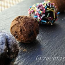 Trufas de chocolate al whisky con Thermomix