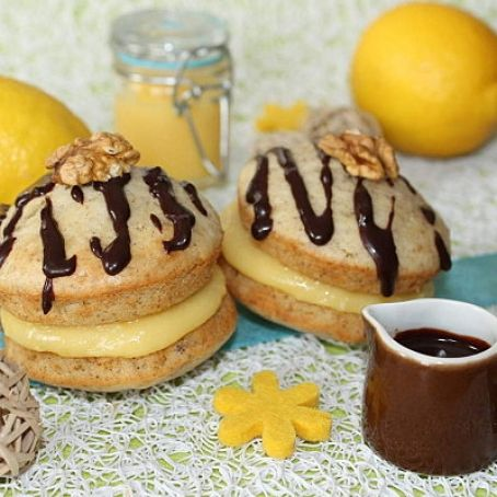 Whoopies de Lemon curd