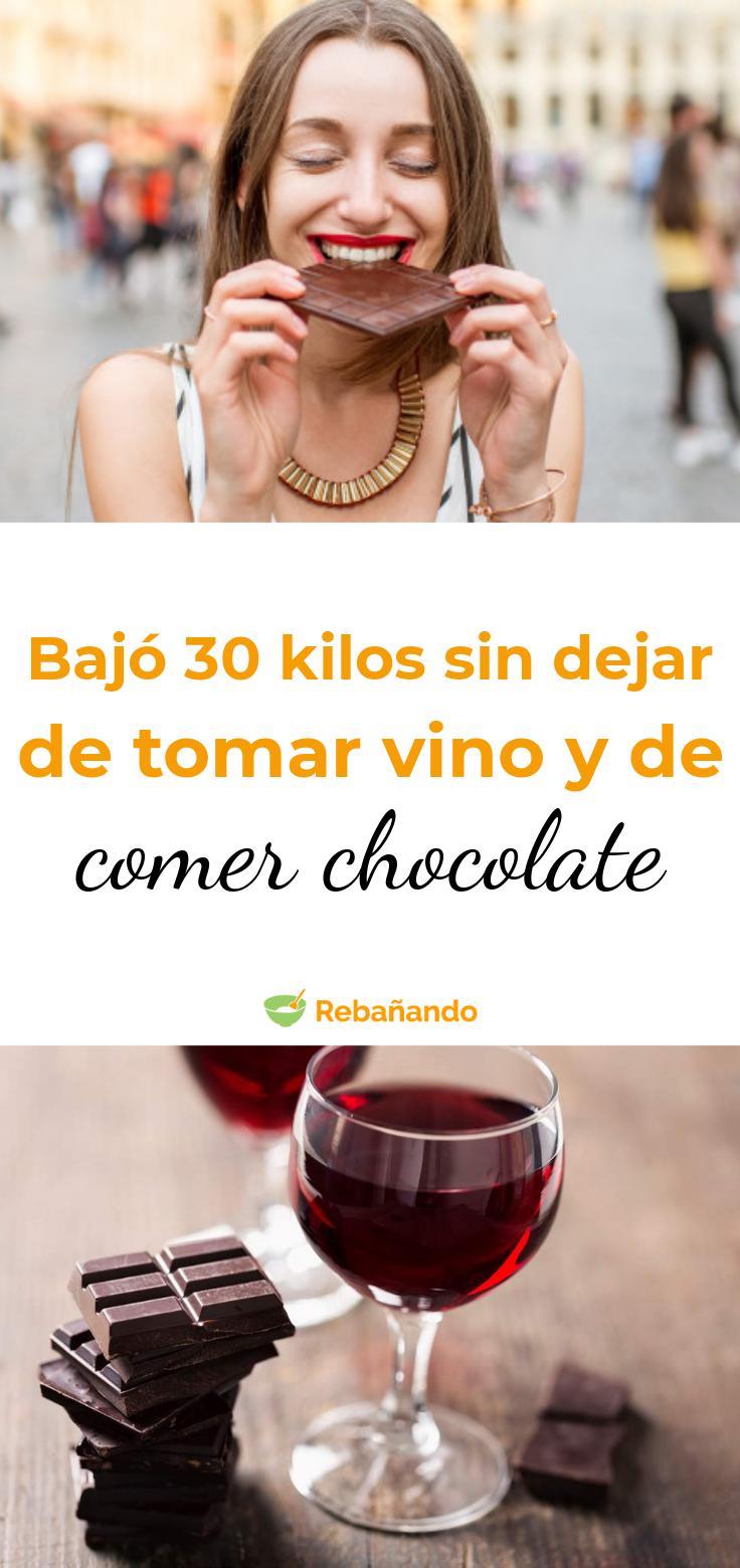 Adelgazar sin dejar de comer chocolate