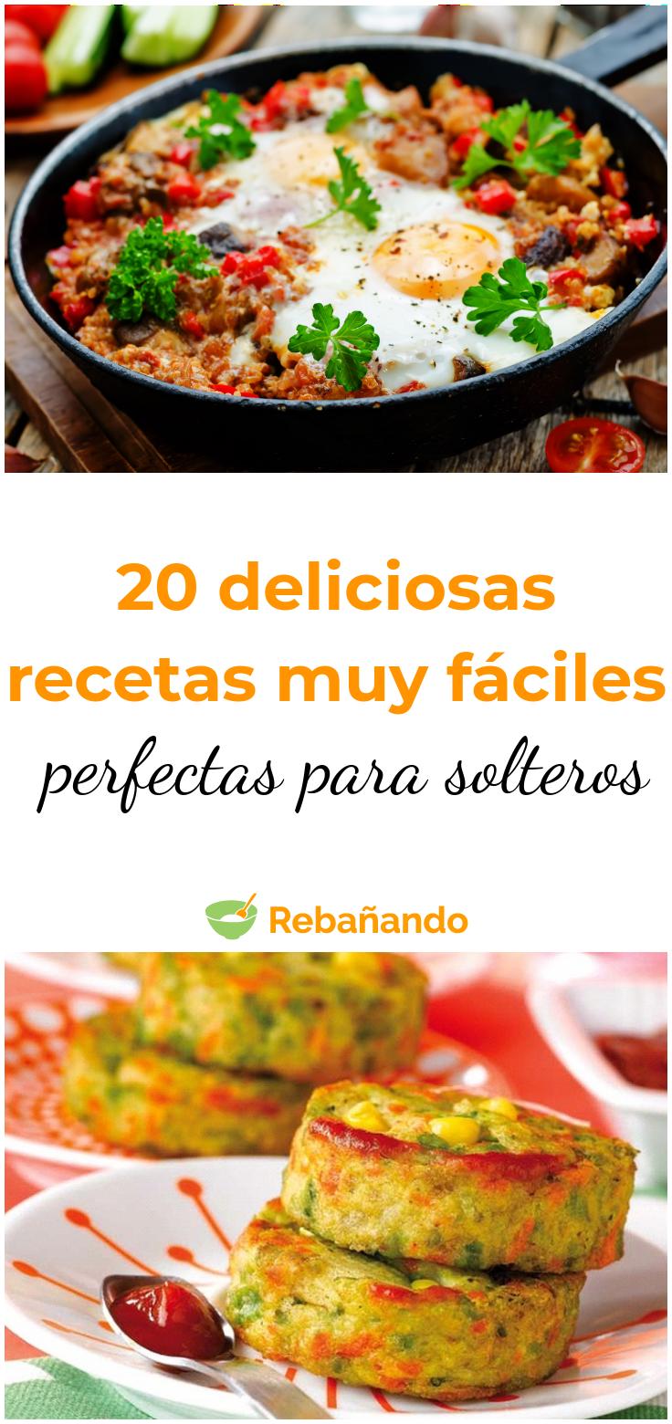 Cocina Para Solteros 20 Deliciosas Recetas Que Se Adaptan A