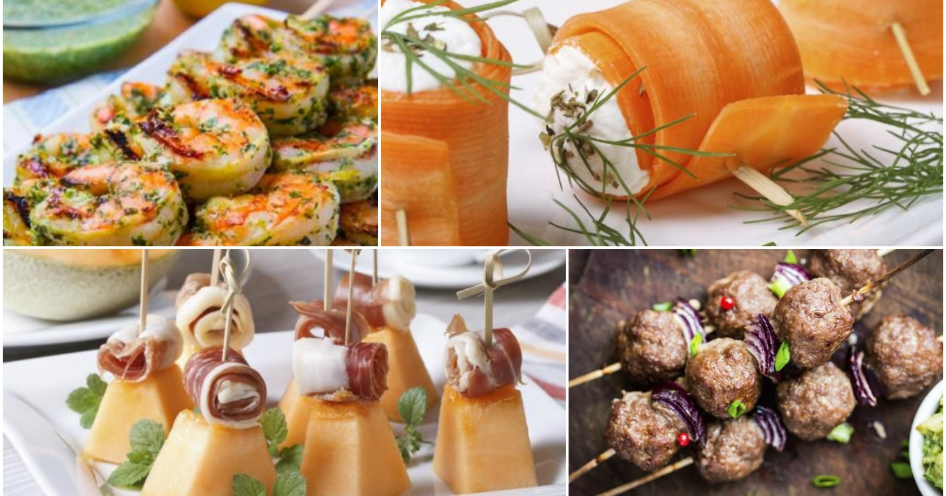 10 ideas de brochetas f ciles y muy r pidas de preparar for Ideas comidas faciles