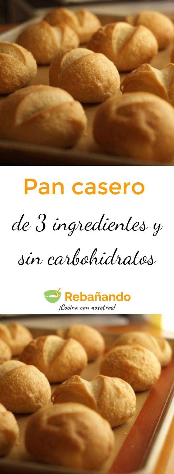 Receta pan 3 ingredientes